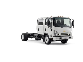 Chevrolet will re-enter the low cab forward market with seven new models – Chevrolet 3500, 3500HD, 4500, 4500HD, 4500HDX, 5500HD and 5500 HDX.