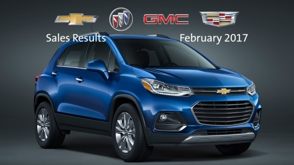 GM Grows Total and Retail Sales in February, Market Share up