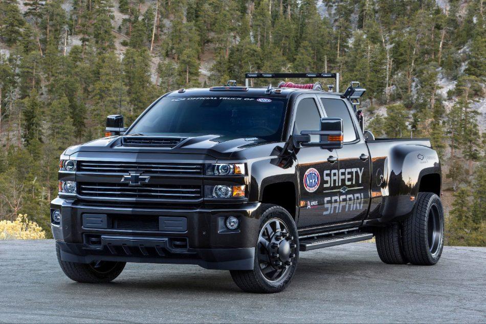 2018 Chevrolet Silverado 3500hd Nhra Safety Safari Concept