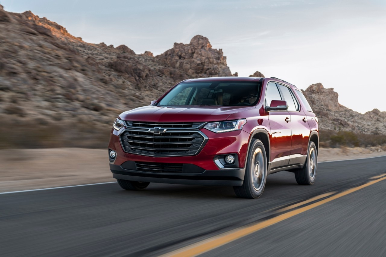 2018 Traverse Redline >> All New Traverse Rs Offers Turbocharged Performance