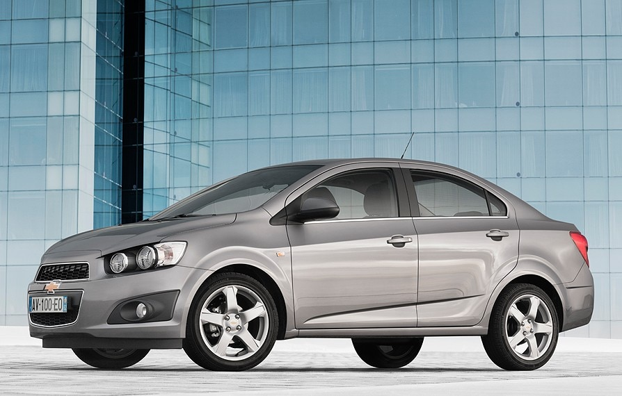 New Chevrolet Aveo combines dynamic handling, fresh design and