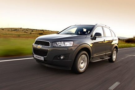 Enhanced Chevrolet Captiva For 2011