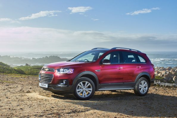 Enhanced 2016 Chevrolet Captiva Range Offers Great Value
