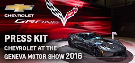 Chevrolet at the Geneva Motor Show 2016