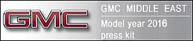 GMC Middle East Model Year 2016