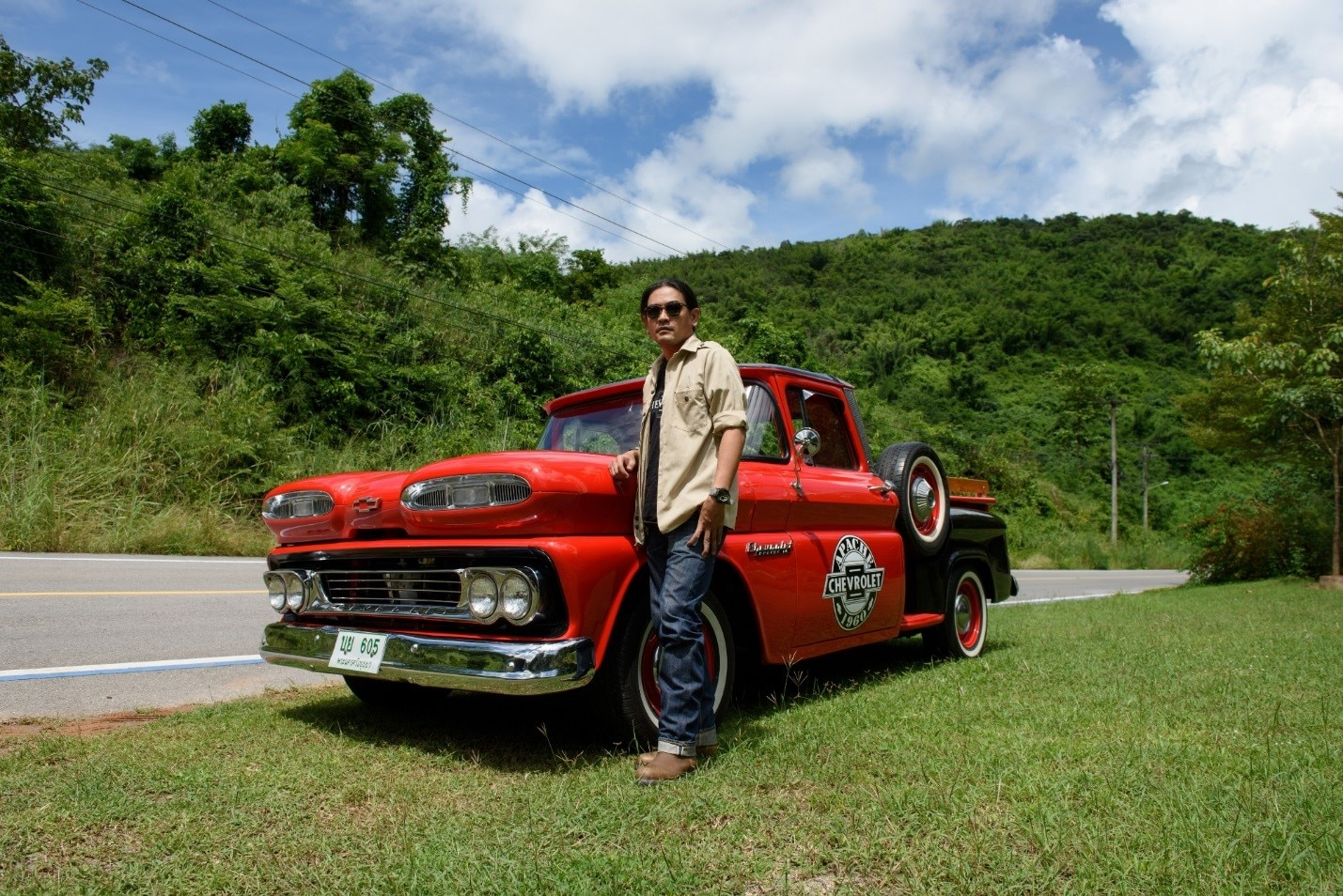 Southeast Asia Truck Lovers 1954 Chevy 4x4 For Sale Arpakorn Sricharoen Had His First Chevrolet Experience In A 2004 Colorado The Colorados Powerful Engine And Performance Impressed Him It Left Good