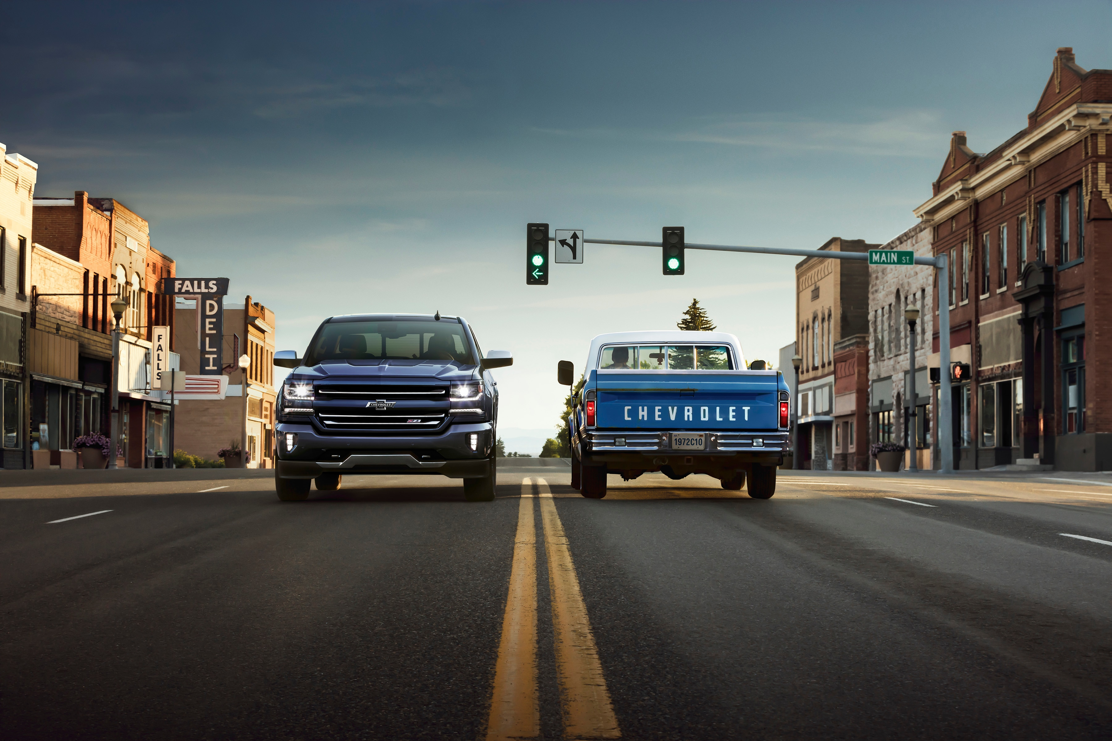 Country Music Station Celebrates 100 Years of Chevy Trucks