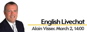 English Web Chat with Alain Visser