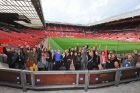 Young Creative Chevrolet visits Manchester United's Old Trafford stadium