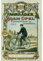 Cover of a bicycle brochure from the period