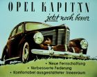 Advertisement for the Opel Kapitän, 1948.