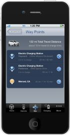 Waypoint routing feature within OnStar RemoteLink