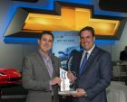 Chevrolet Receives Awards At LA Auto Show