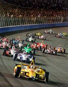Team Chevy  Takes 8 of 10 Finishes At Fontana's IndyCar Finale