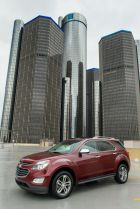 General Motors is turning its employees' empty water bottles from five Michigan locations into a new life: noise-reducing fabric insulation that covers the Chevrolet Equinox V6 engine.