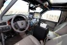 "The ""Boss"", a self-driving Chevrolet Tahoe, claimed first prize at the 2007 DARPA Urban Challenge."
