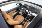 """Opel ADAM ROCKS Concept -Elegant Nappa leather upholstery in a Brandy-colored tone"""