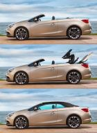Opel Cascada Soft-top system opens in only 17 seconds