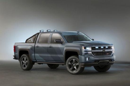 Elegant Chevrolet Introduces Silverado Special Ops Concept