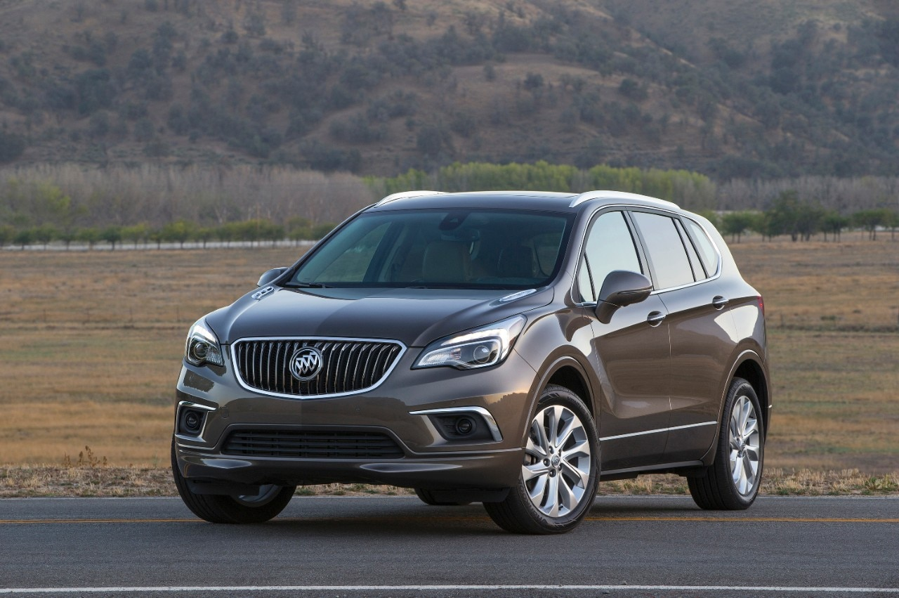 2016 Buick Envision Front