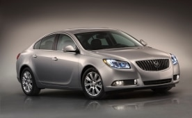 2012 Buick Regal with eAssist fuel-saving technology