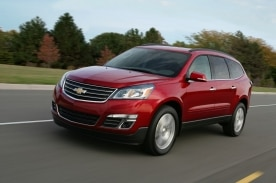 Multisegment Traverse 2013 de Chevrolet