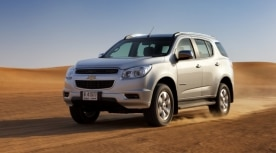 Chevrolet Media  Middle East  2014 Trailblazer