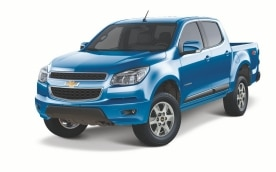 Chevrolet Colorado 2013 Azul Nocturno