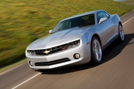 2013 Chevrolet Camaro LT with an RS Appearance Package