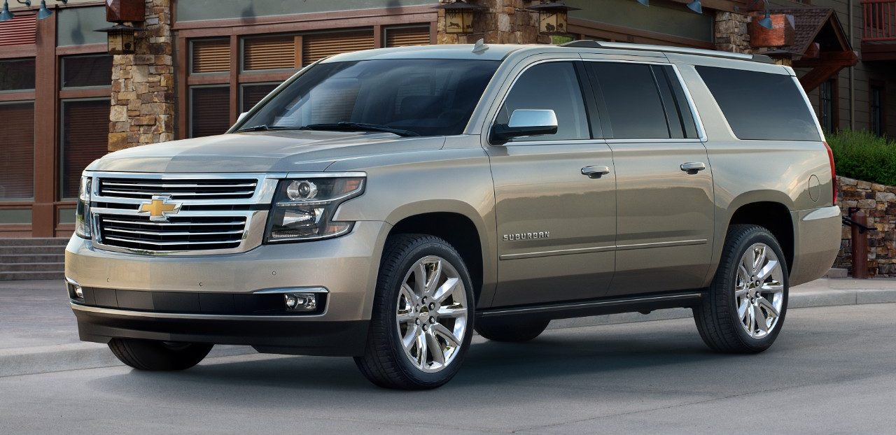 Overall length of chevy suburban