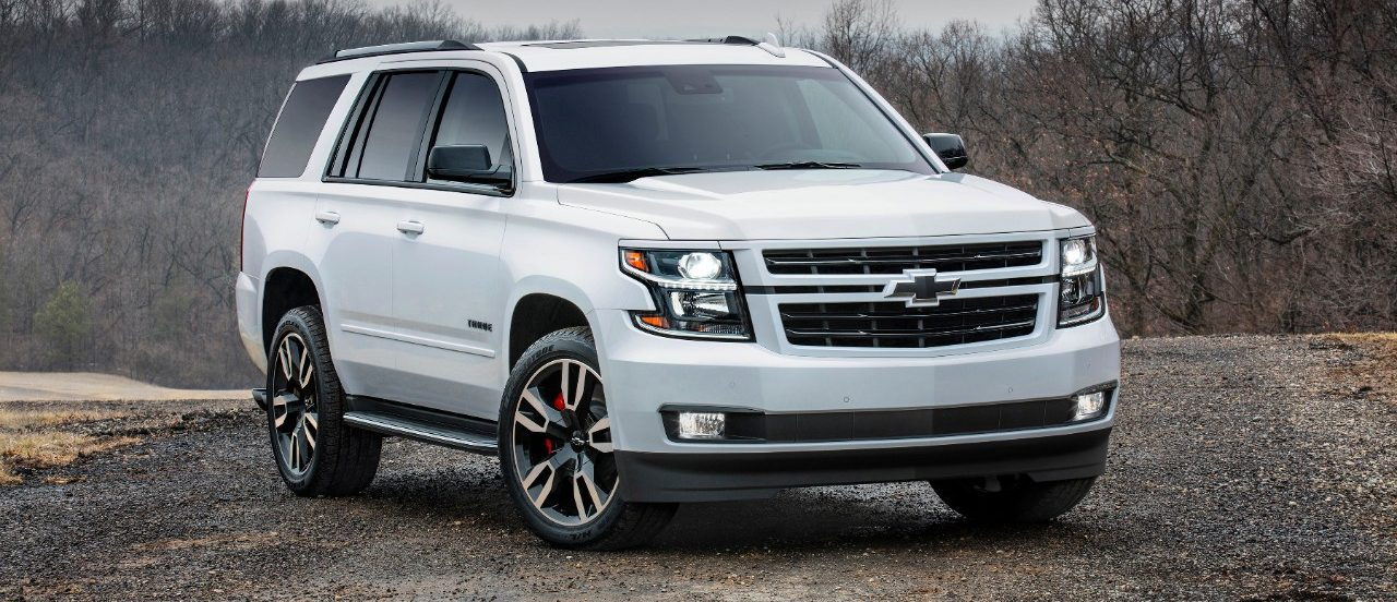 How much does a chevy tahoe weigh