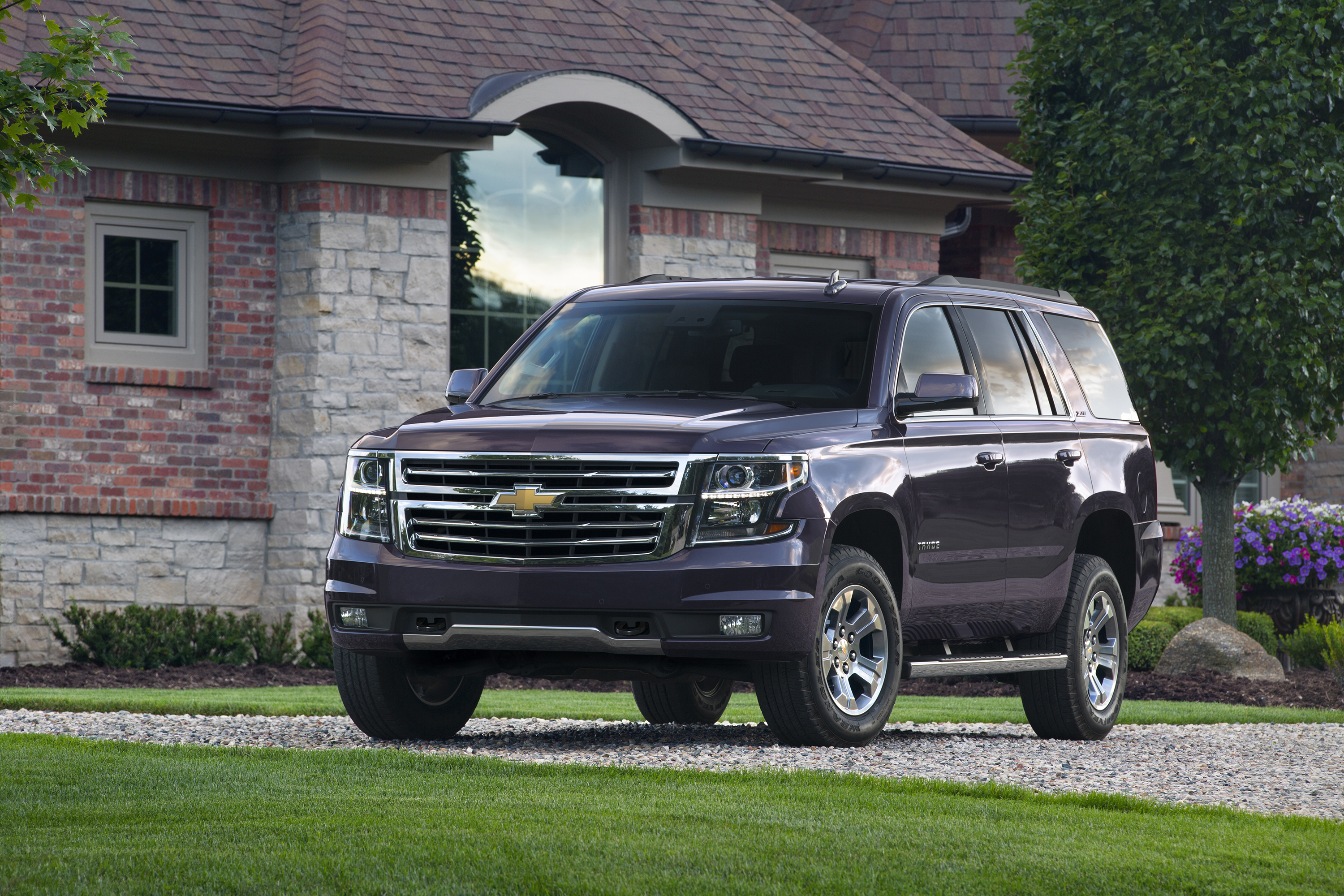 Tahoe Z71 In Its Element Off Road Or On The Streets