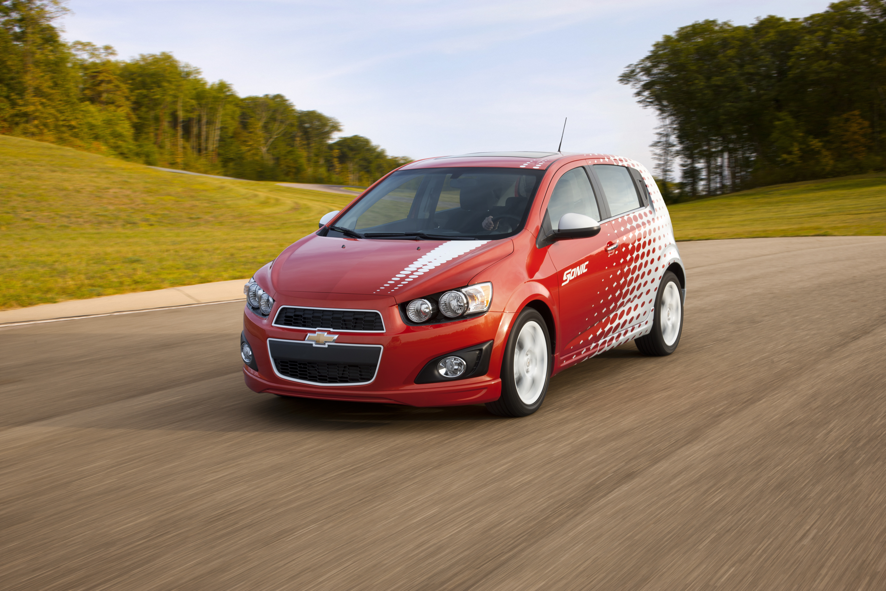 Chevrolet Sonic Gets Sporty With Z-Spec Accessories