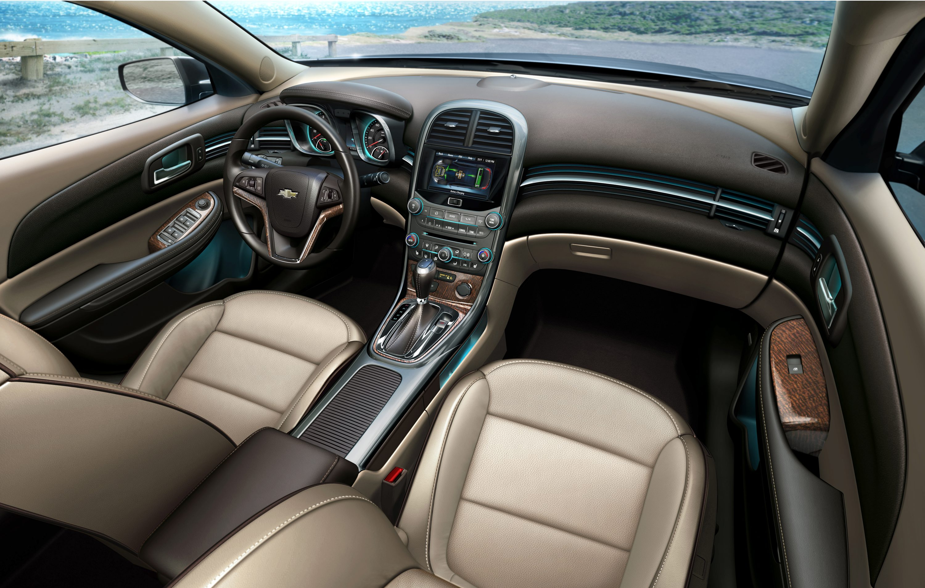 Chevrolet Malibu's Interior Delivers a Touch of Luxury