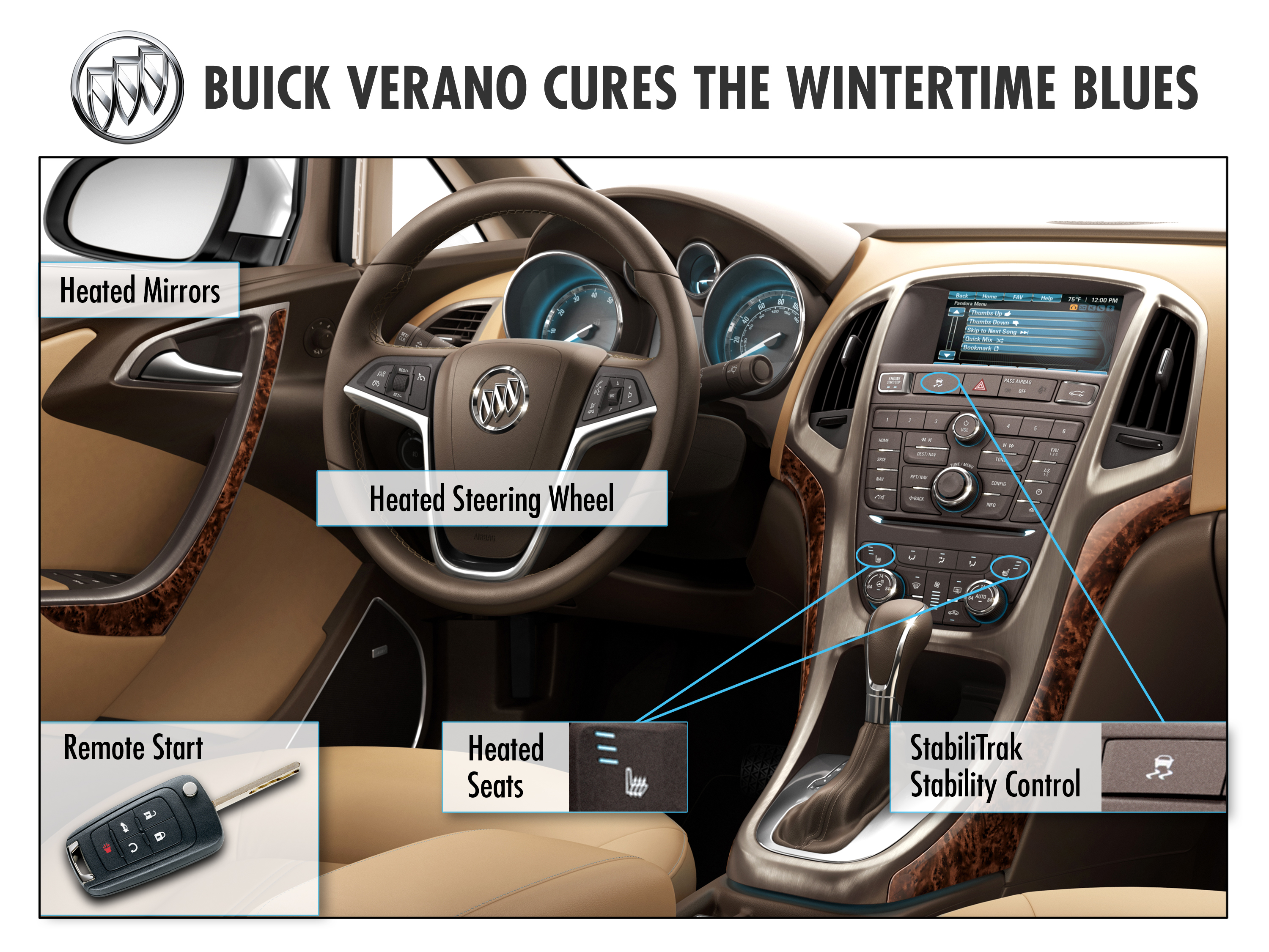 2012 Buick Verano Cures the Wintertime Blues
