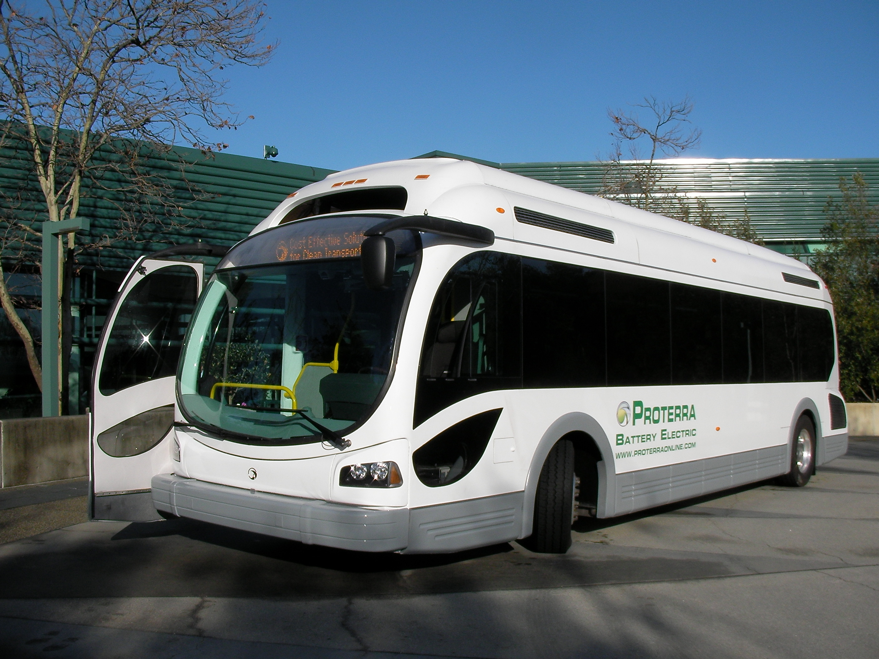 Proterra Battery Electric Bus This Photo