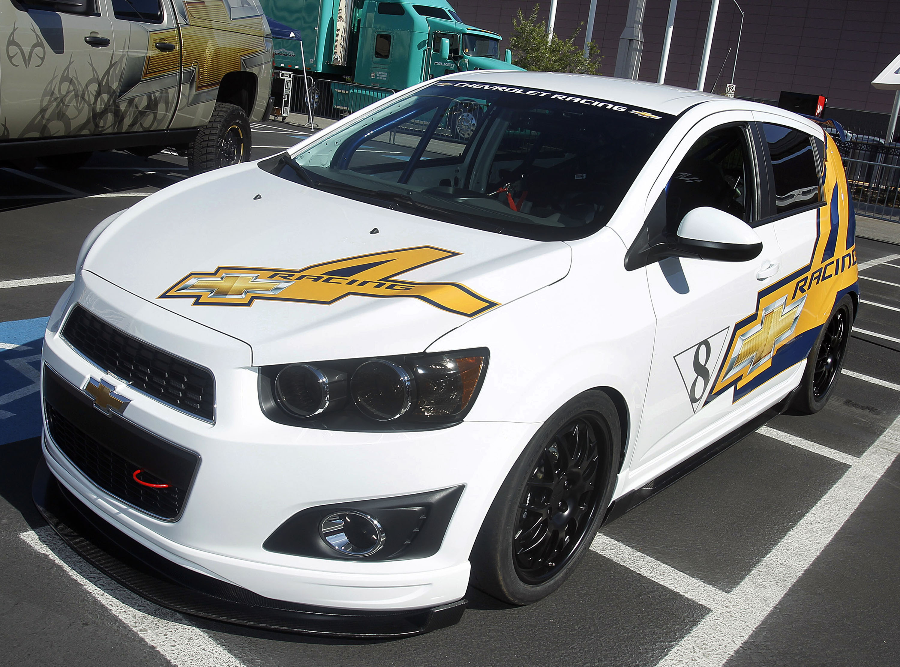 Chevrolet Sonic Owners Manual: Trailer Towing