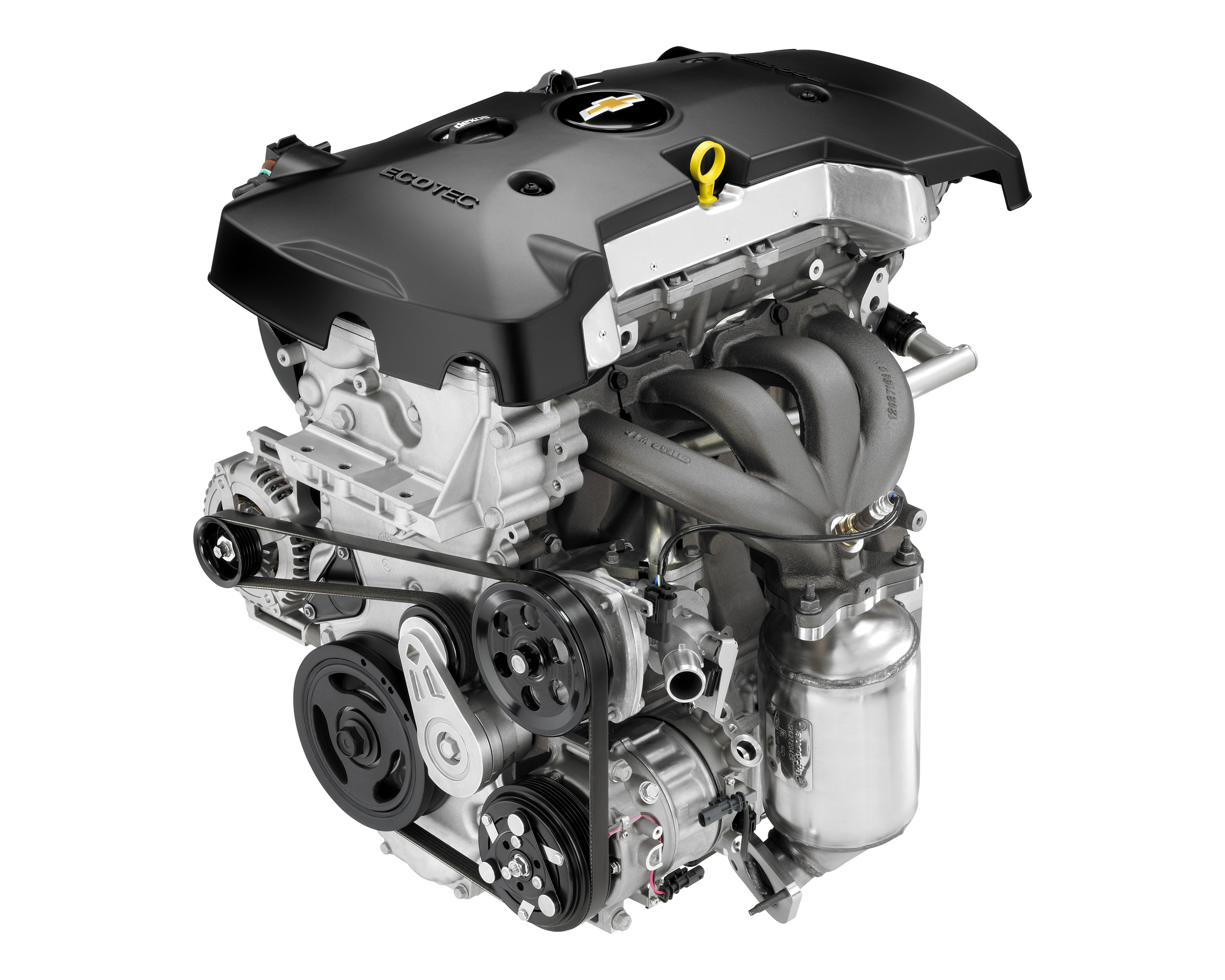 New Ecotec 2.5L Engine More Efficient, Refined and Powerful   I4 Engine Diagram      GM Media - General Motors