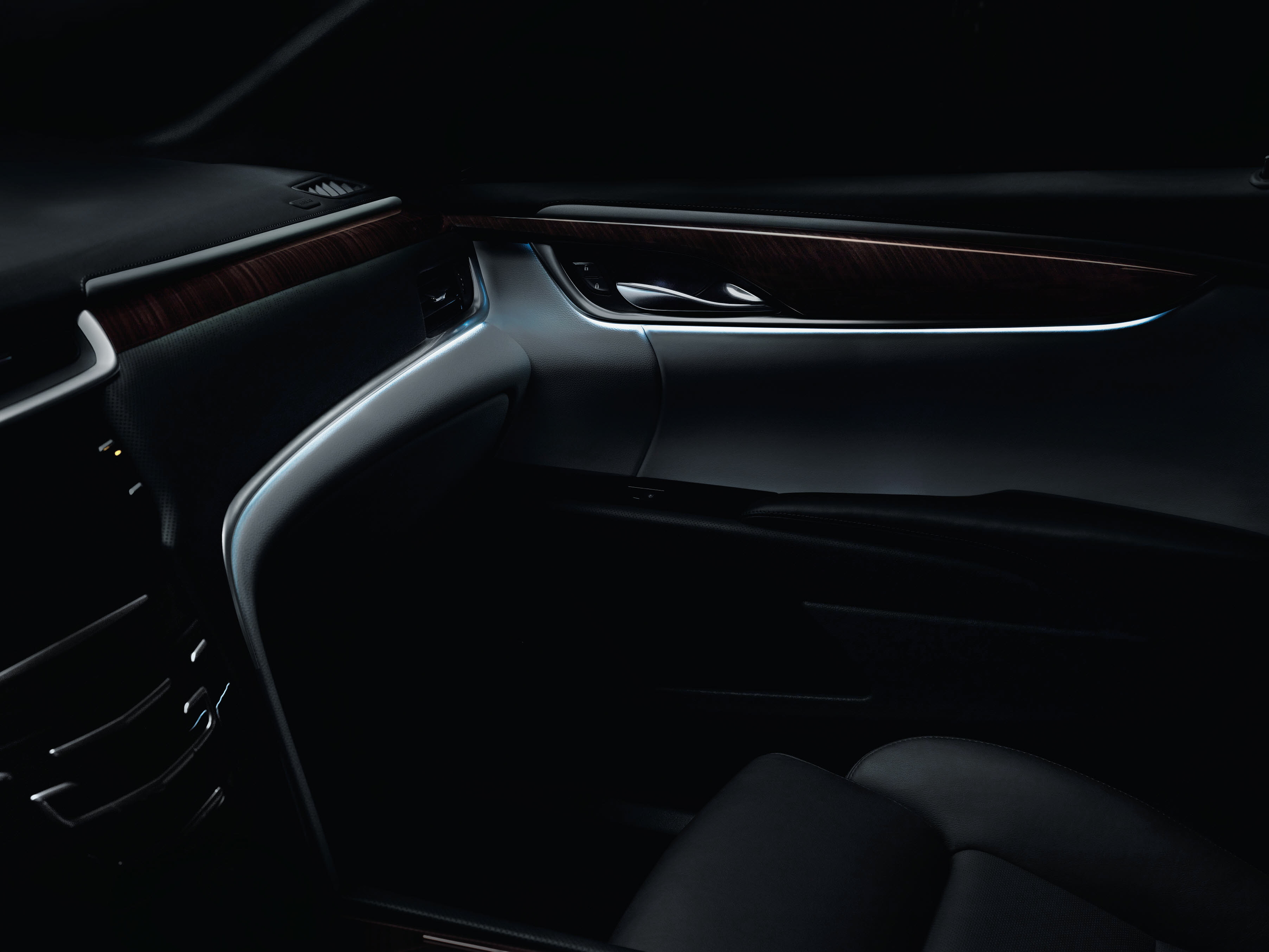 cadillac xts lighting reflects luxury and inspiration accent ambient lighting