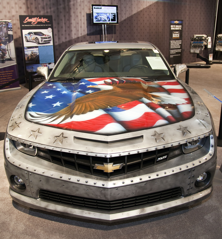 Military Camaro Revs Bidders to $175,000 at Barrett-Jackson