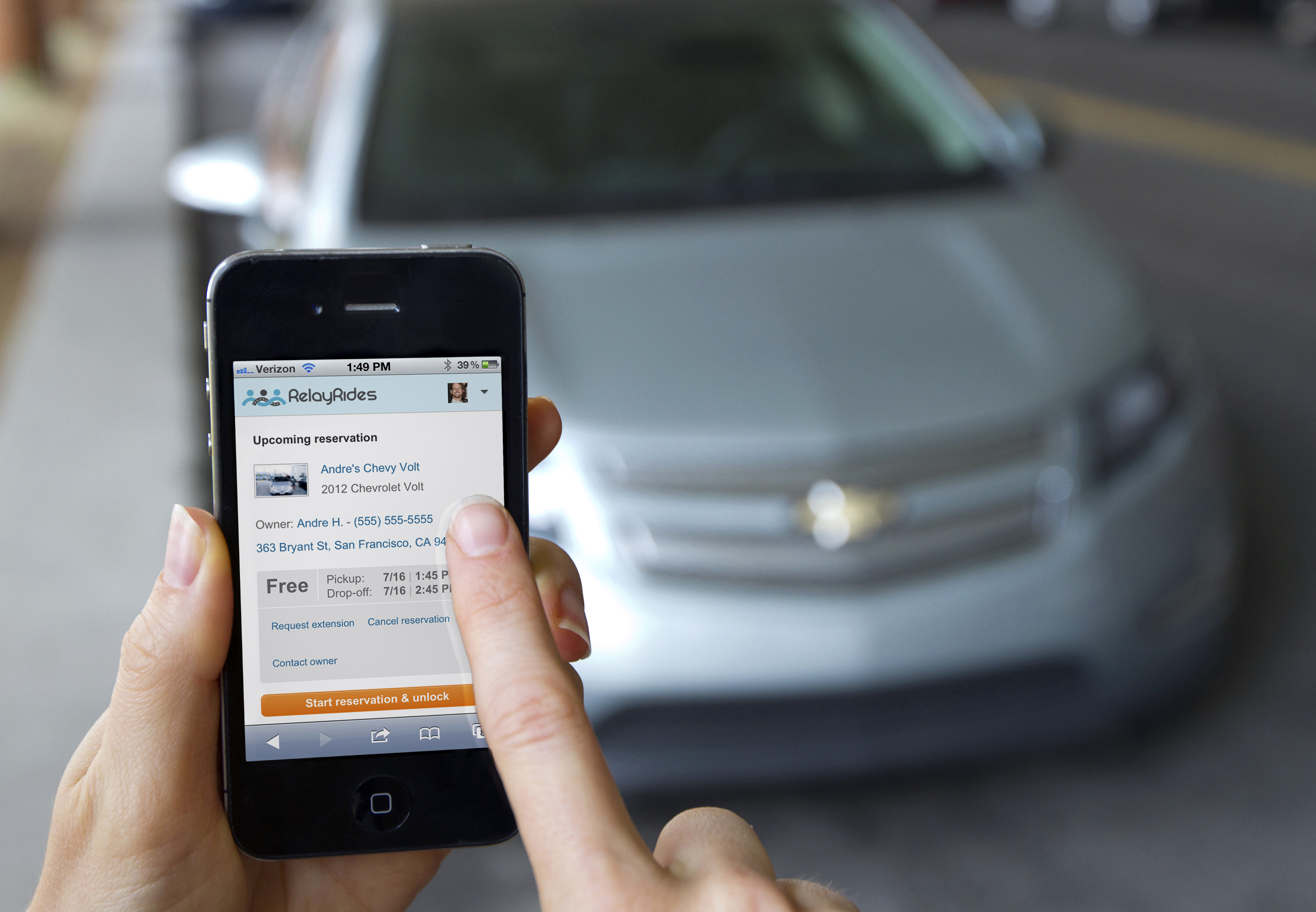 RelayRides and OnStar: Baby, You Can Rent My Car