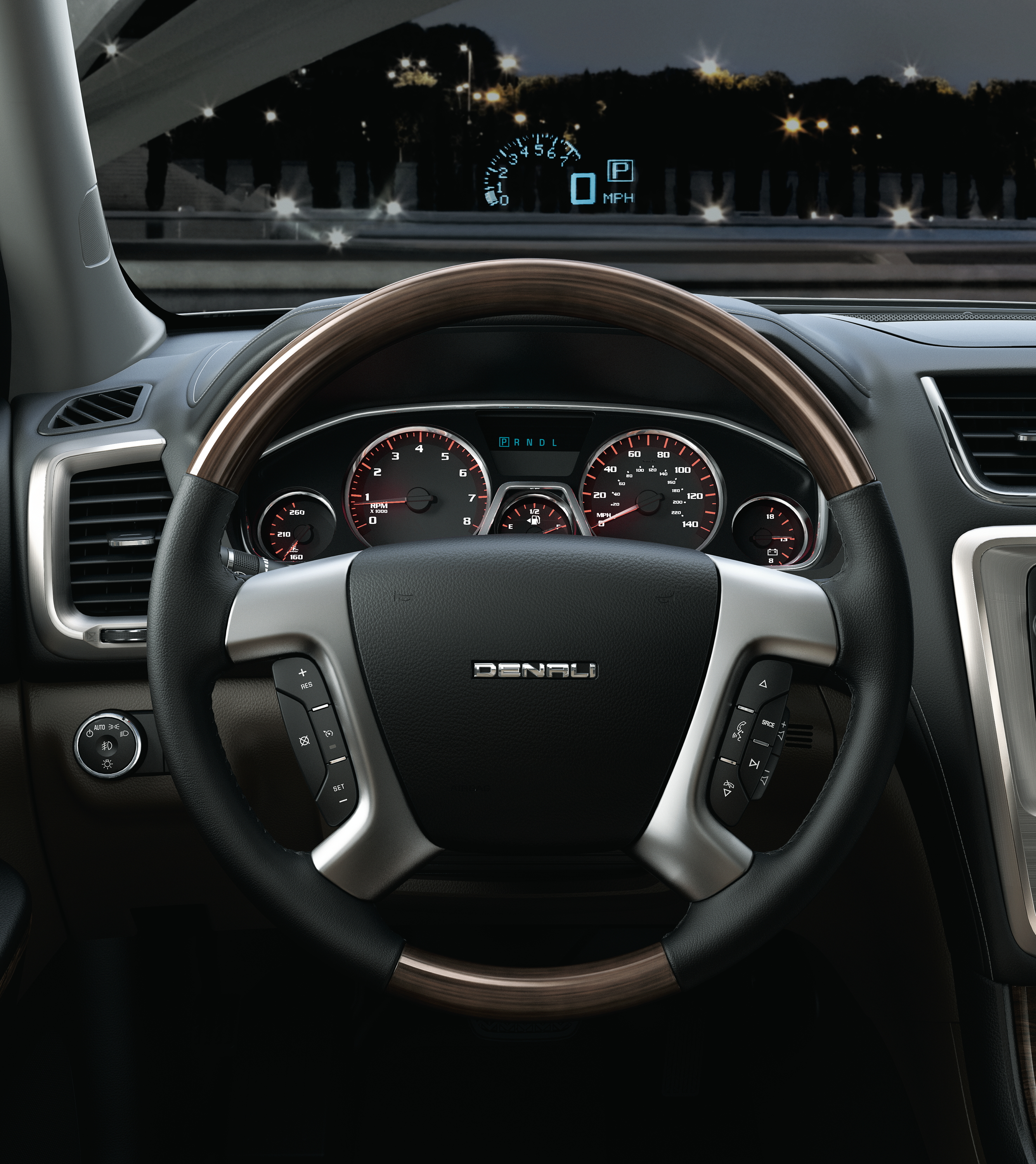 Gmc Acadia Has Jet Fighter Technology Room For Eight