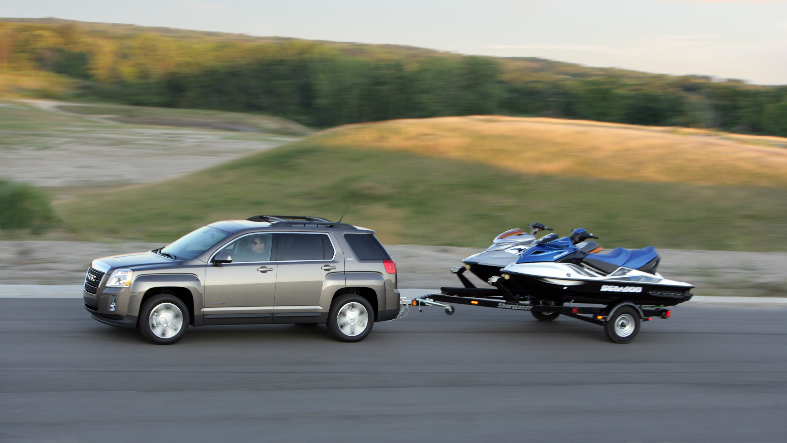 Towing Skills Can t Be Swayed on GMC Crossovers