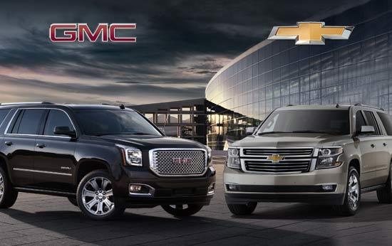 Chevrolet Gmc Reveal All New 2015 Suvs