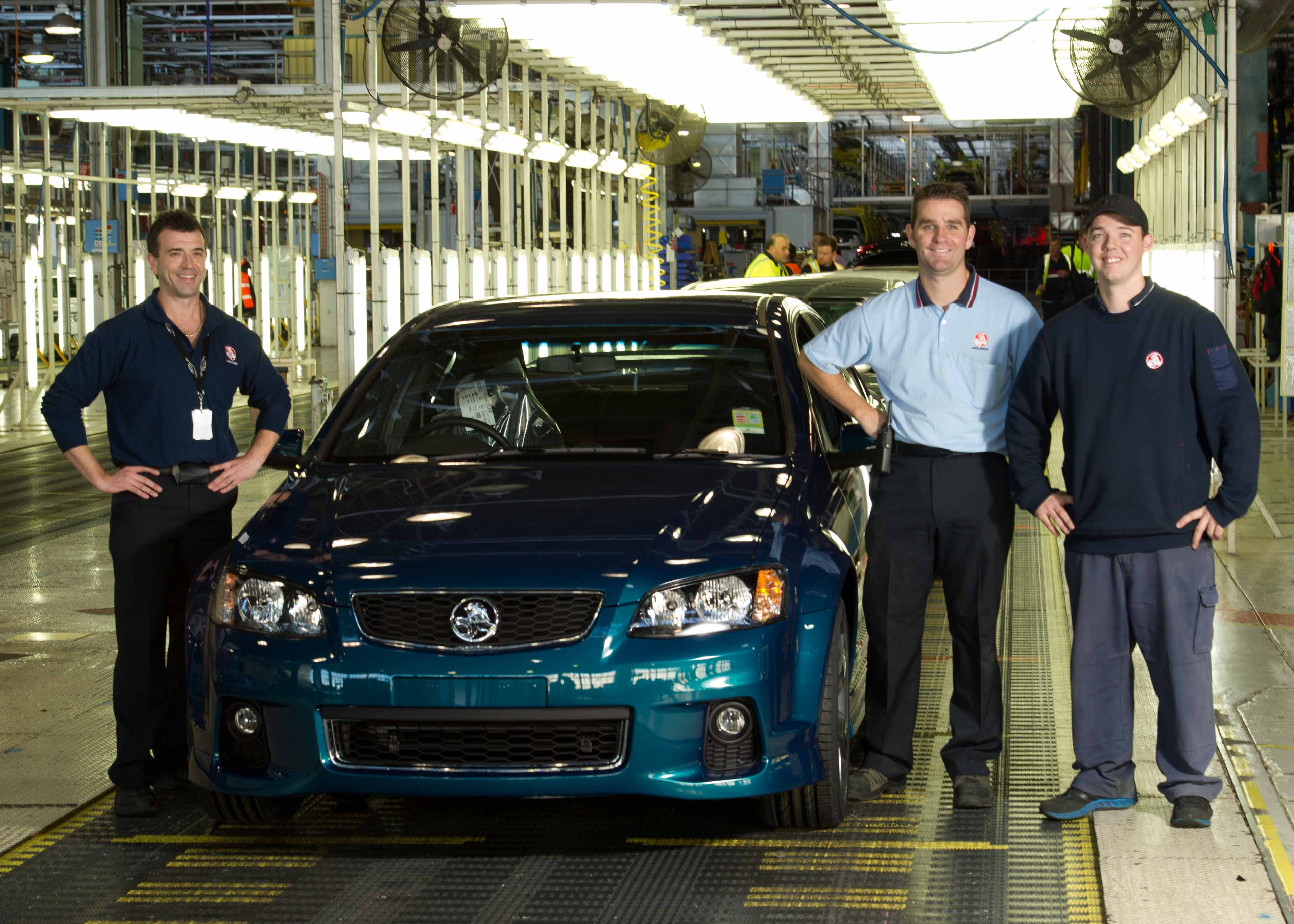 End of an Era - The Final VE Commodore Rolls off The Line at