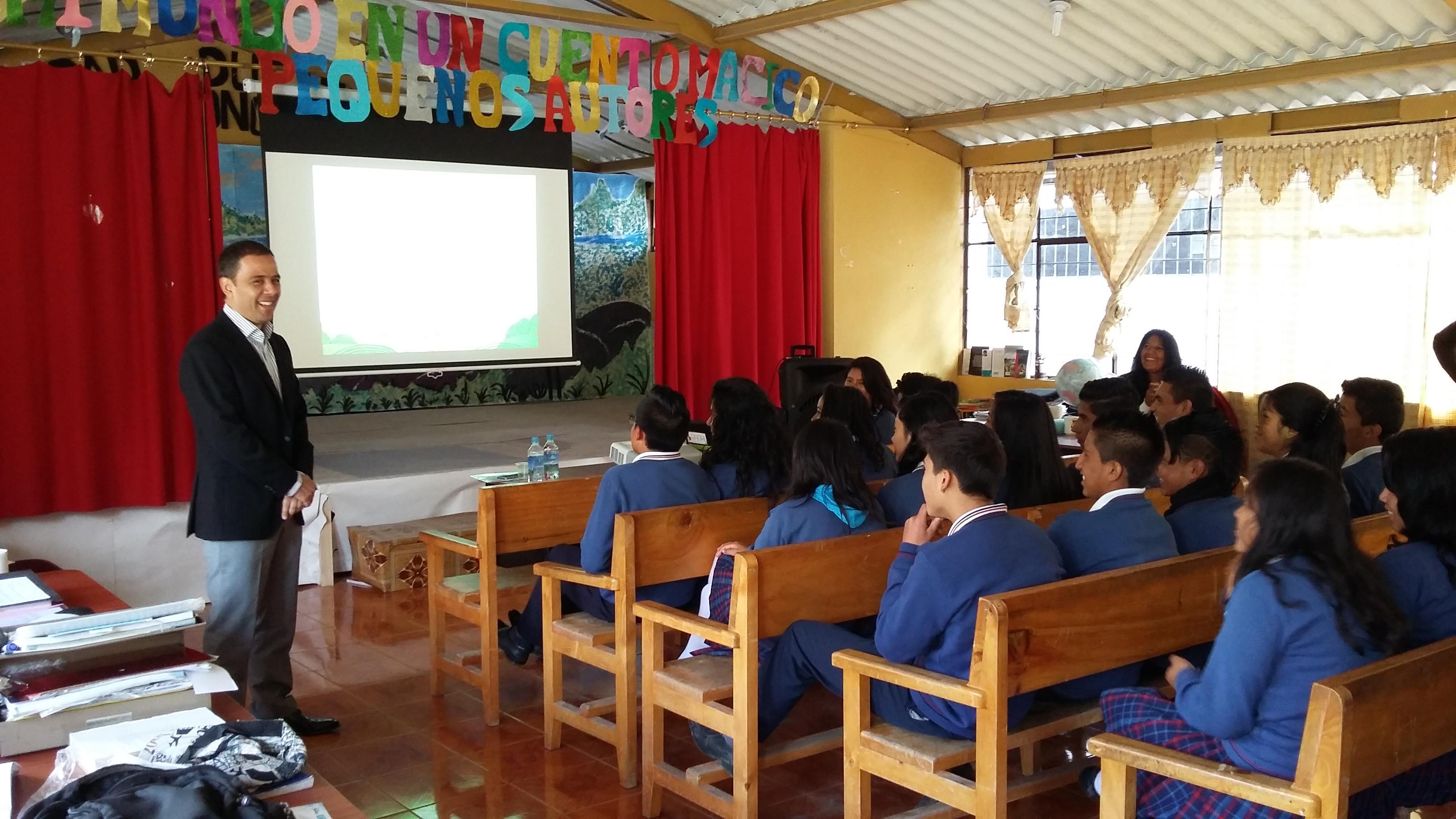 Gm Obb Del Ecuador Comprometido Con El Programa De Enseña