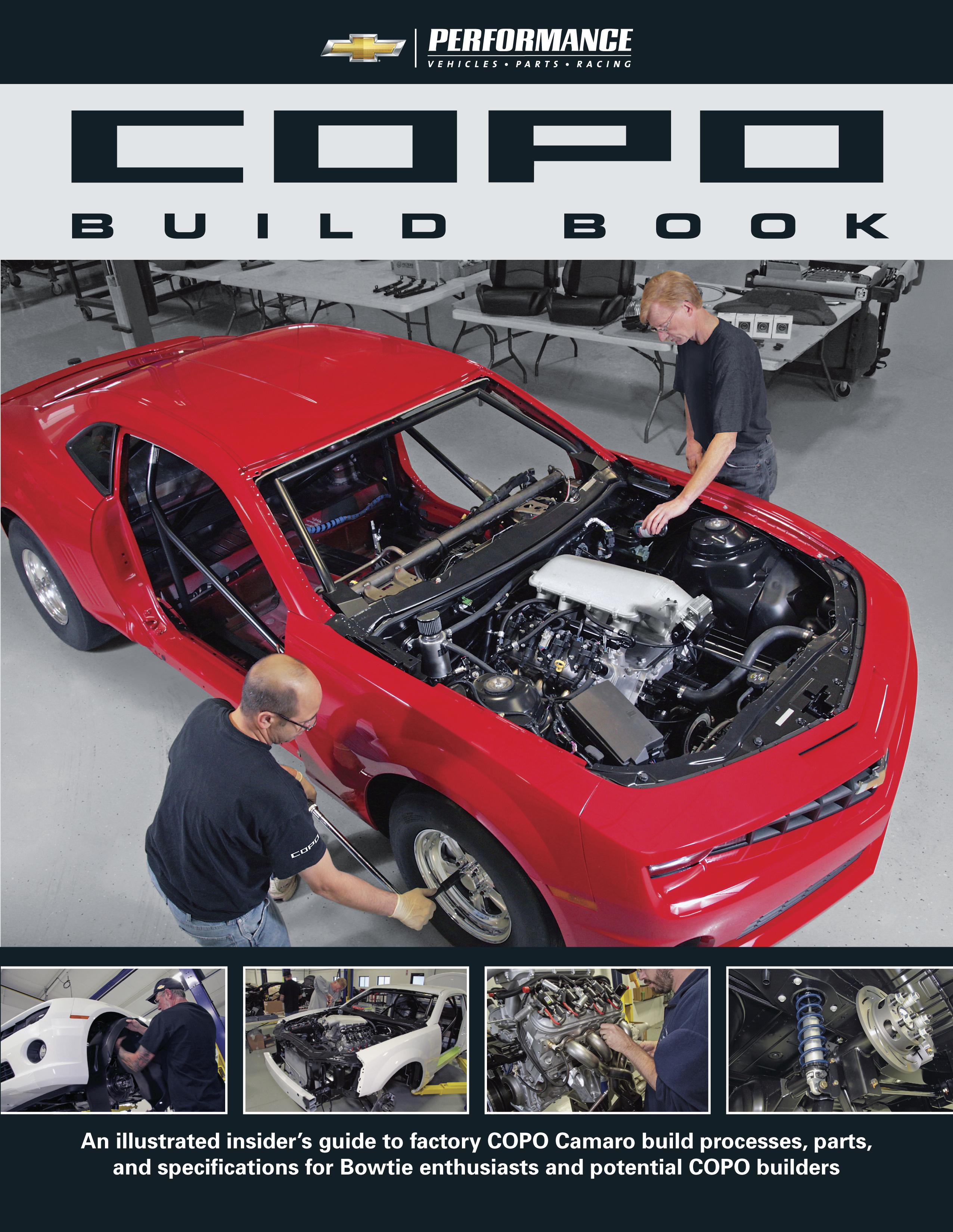 COPO Build Book from Chevrolet Performance shows how to Build your