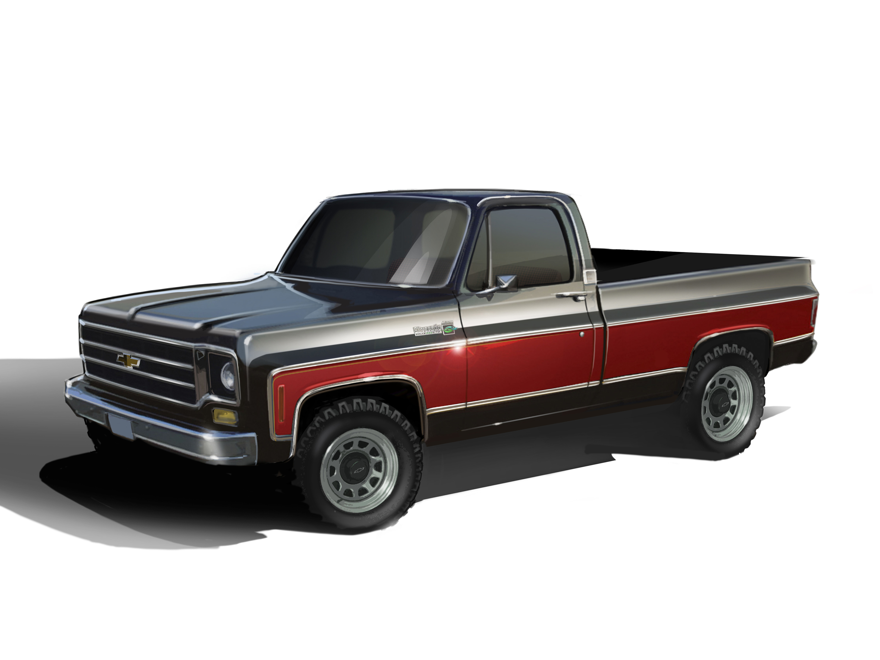 E-ROD-Powered 1978 Chevy 4X4 Combines Classic Style with Modern ...