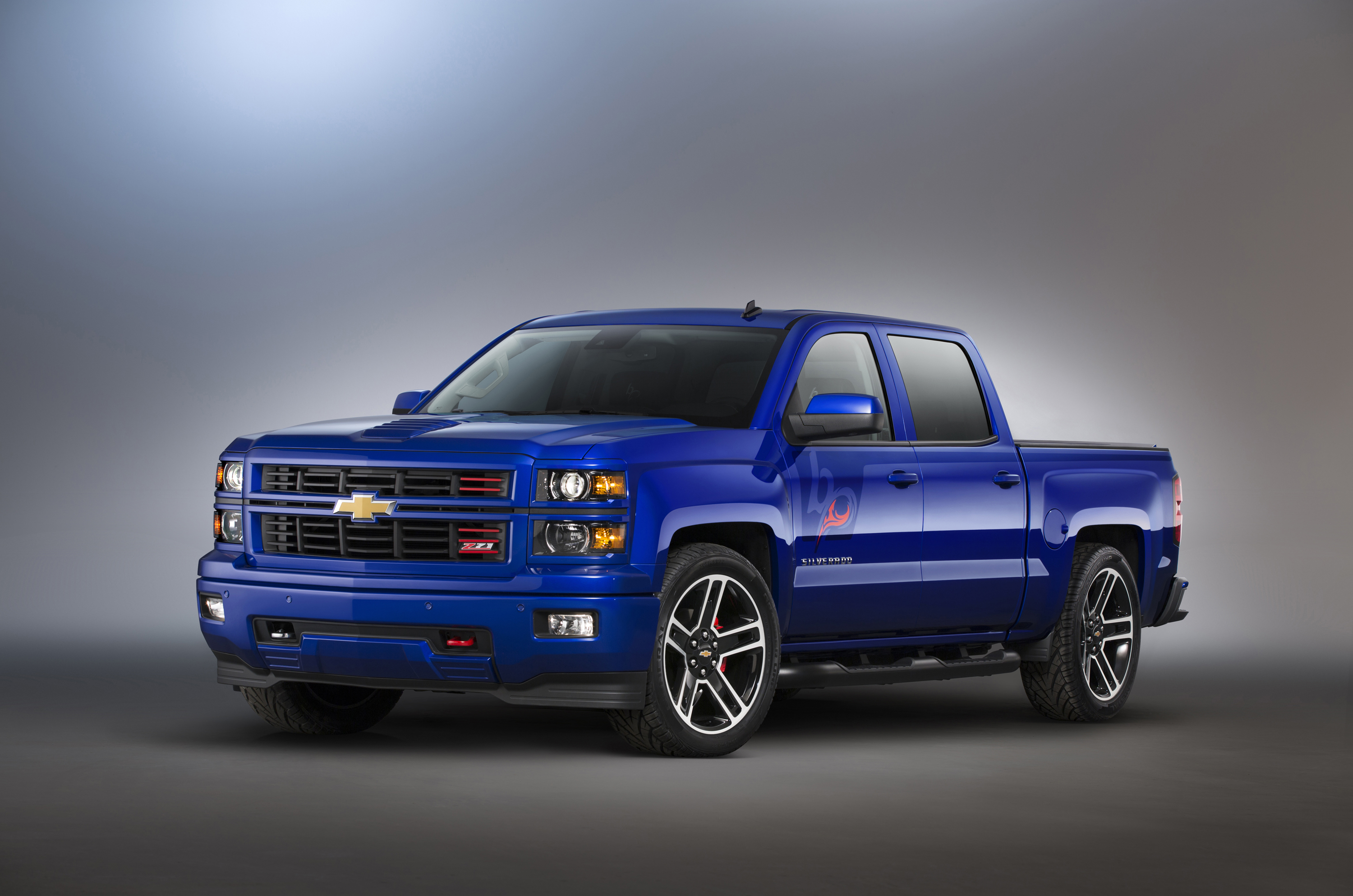 Chevrolet sema truck concepts strong on personalization