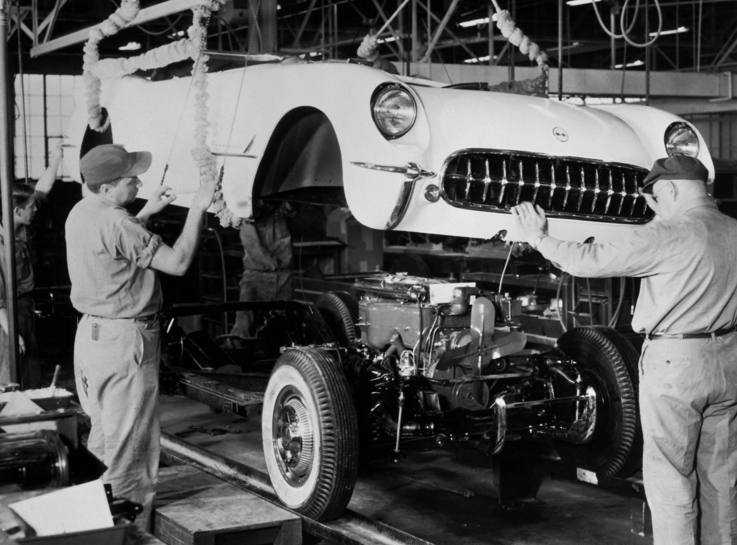 Image result for first corvette assembled in 1953